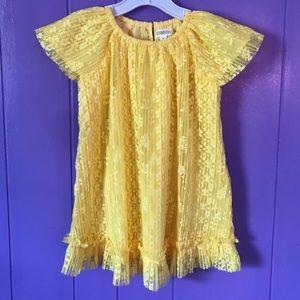 🌞👱🏻♀️ Yellow Lace Dress New W/O Tags